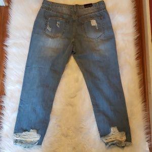 Fashion Nova Jeans - Fashion Nova Distressed Jeans